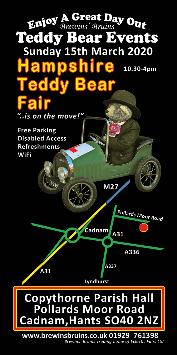 March Teddy Bear Fair 2020em